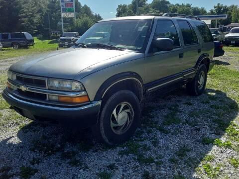 2000 Chevrolet Blazer for sale at New Start Motors LLC - Rockville in Rockville IN