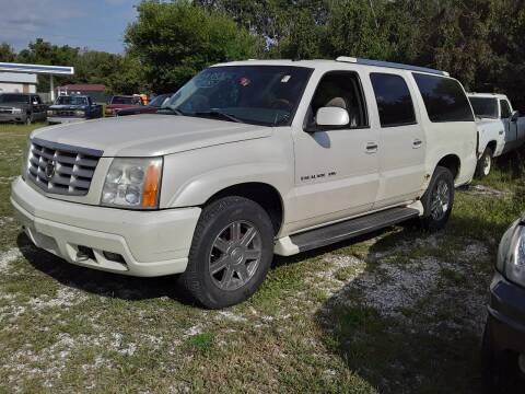 2003 Cadillac Escalade ESV for sale at New Start Motors LLC - Rockville in Rockville IN