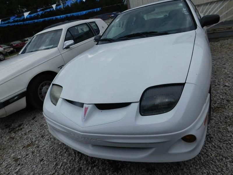2002 Pontiac Sunfire SE 2dr Coupe - Rockville  IN