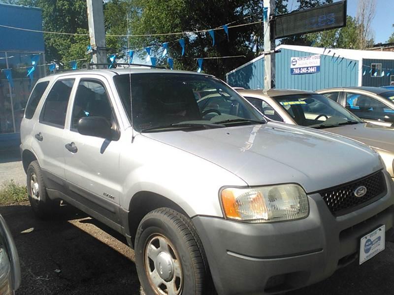 2002 Ford Escape XLS Value 2WD 4dr SUV - Montezuma IN