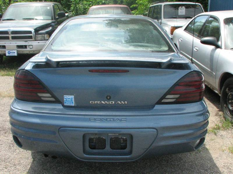 1999 Pontiac Grand Am SE 4dr Sedan - Montezuma IN