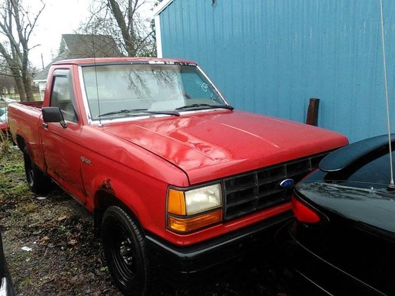 1989 Ford Ranger 2dr Standard Cab LB - Montezuma IN