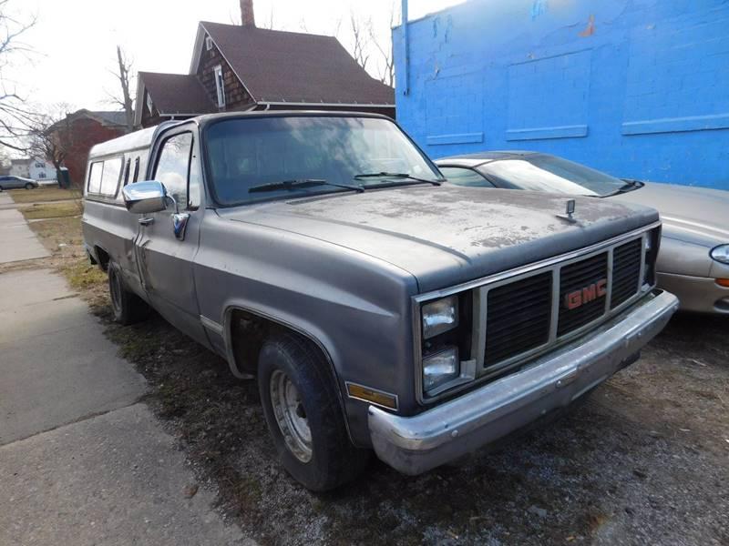 1987 GMC R/V 1500 Series 2dr R1500 Standard Cab LB - Montezuma IN