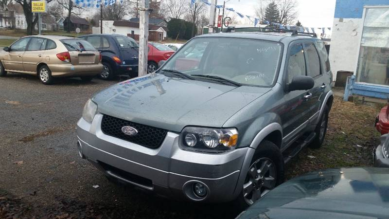 2007 Ford Escape AWD XLT 4dr SUV V6 - Montezuma IN