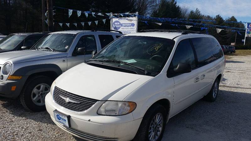 2002 Chrysler Town and Country LX 4dr Extended Mini-Van - Rockville