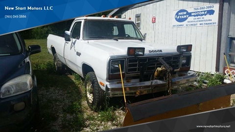 1985 Dodge RAM 350 for sale at New Start Motors LLC - Rockville in Rockville IN