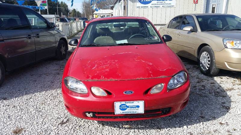 1999 Ford Escort ZX2 Hot 2dr Coupe - Rockville  IN