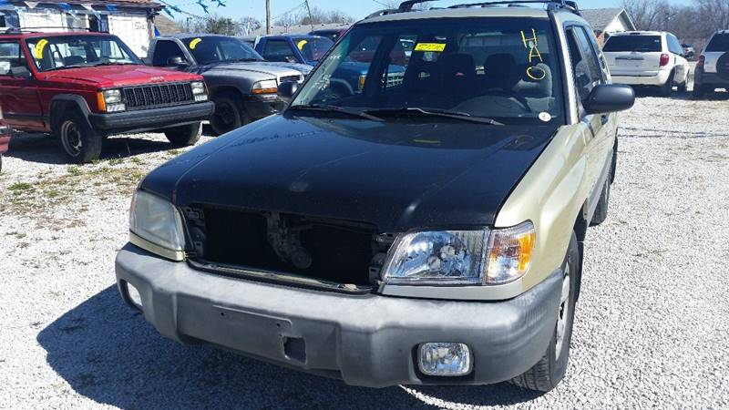 2002 Subaru Forester AWD L 4dr Wagon - Rockville