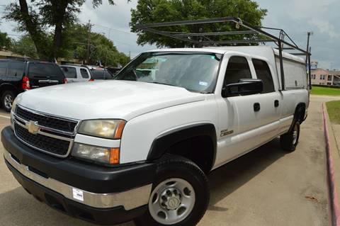 2006 Chevrolet Silverado 2500HD for sale at E-Auto Groups in Dallas TX