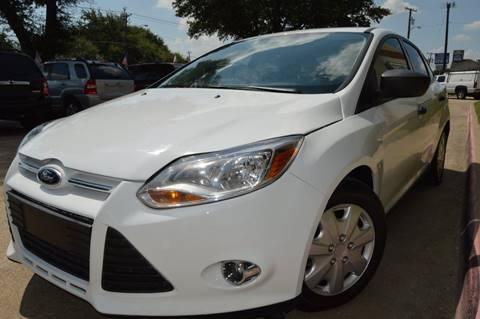 2013 Ford Focus for sale at E-Auto Groups in Dallas TX