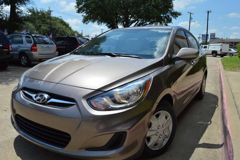2013 Hyundai Accent for sale at E-Auto Groups in Dallas TX