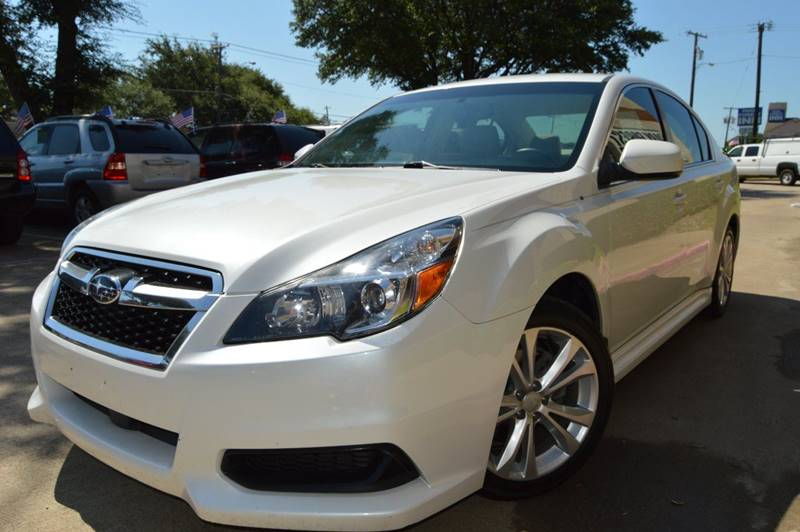 2013 Subaru Legacy Awd 25i Limited 4dr Sedan In Dallas Tx E Auto