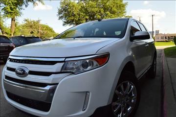 2013 Ford Edge for sale at E-Auto Groups in Dallas TX