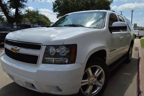 2009 Chevrolet Suburban for sale at E-Auto Groups in Dallas TX
