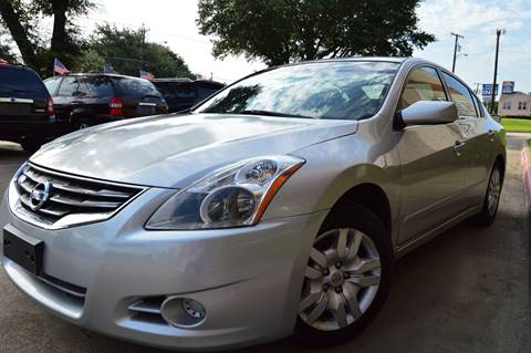 2012 Nissan Altima for sale at E-Auto Groups in Dallas TX
