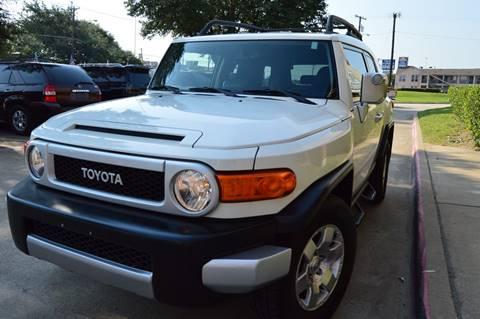 2010 Toyota FJ Cruiser for sale at E-Auto Groups in Dallas TX