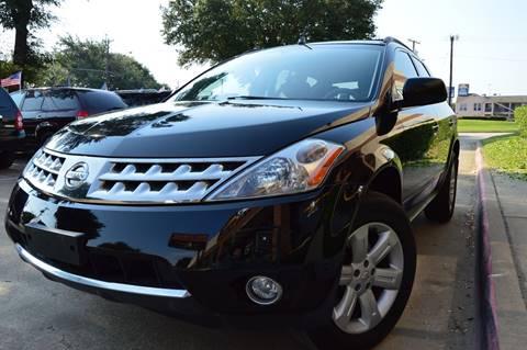 2006 Nissan Murano for sale at E-Auto Groups in Dallas TX