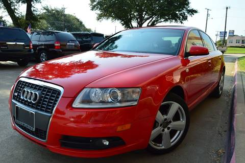 2008 Audi A6 for sale at E-Auto Groups in Dallas TX