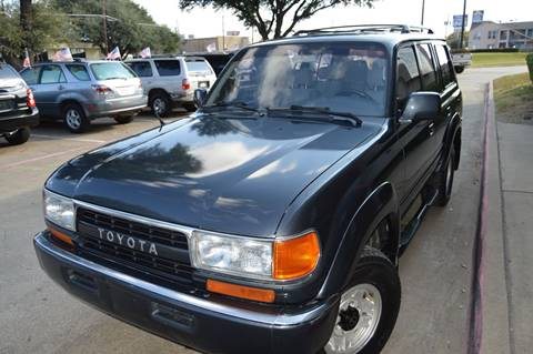 1991 Toyota Land Cruiser for sale at E-Auto Groups in Dallas TX