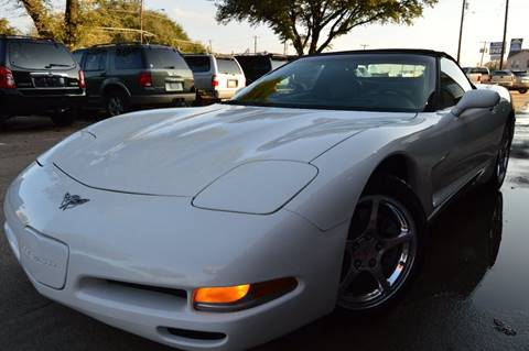 2003 Chevrolet Corvette for sale at E-Auto Groups in Dallas TX