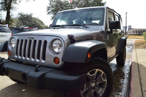 2013 Jeep Wrangler Unlimited for sale at E-Auto Groups in Dallas TX
