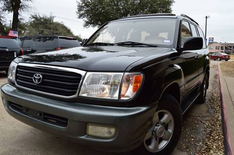 1999 Toyota Land Cruiser for sale at E-Auto Groups in Dallas TX