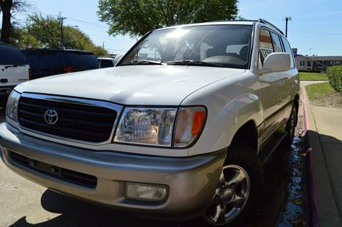 2001 Toyota Land Cruiser for sale at E-Auto Groups in Dallas TX