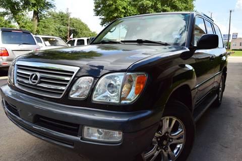2004 Lexus LX 470 for sale at E-Auto Groups in Dallas TX