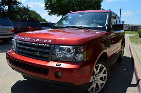 2009 Land Rover Range Rover Sport for sale at E-Auto Groups in Dallas TX
