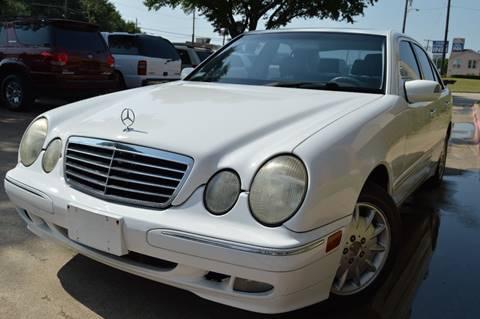 2001 Mercedes-Benz E-Class for sale at E-Auto Groups in Dallas TX