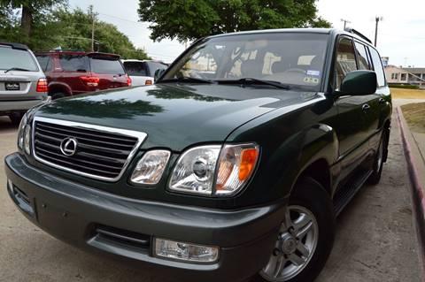 2000 Lexus LX 470 for sale at E-Auto Groups in Dallas TX