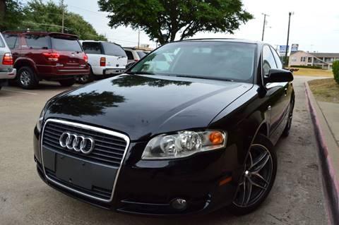2007 Audi A4 for sale at E-Auto Groups in Dallas TX