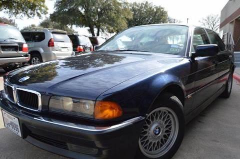 1997 BMW 7 Series for sale at E-Auto Groups in Dallas TX