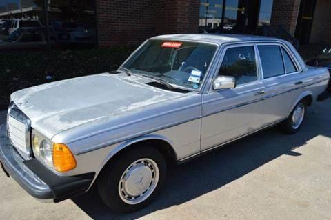 1982 Mercedes-Benz 240-Class for sale at E-Auto Groups in Dallas TX