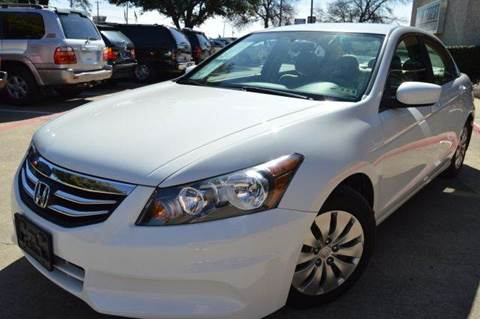 2012 Honda Accord for sale at E-Auto Groups in Dallas TX