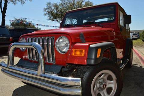 2000 Jeep Wrangler for sale at E-Auto Groups in Dallas TX