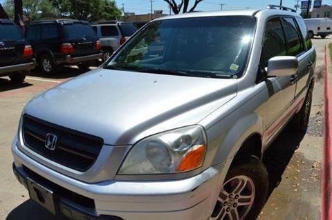 2005 Honda Pilot for sale at E-Auto Groups in Dallas TX
