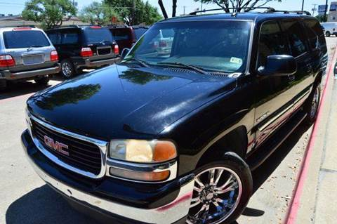 2005 GMC Yukon XL for sale at E-Auto Groups in Dallas TX