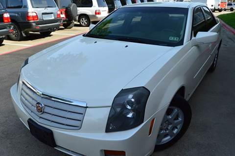 2007 Cadillac CTS for sale at E-Auto Groups in Dallas TX