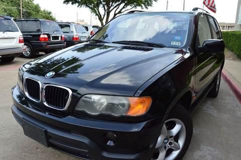 2002 BMW X5 for sale at E-Auto Groups in Dallas TX