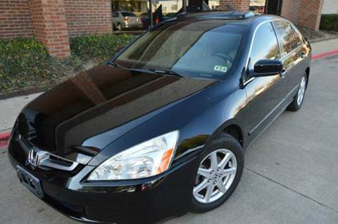 2004 Honda Accord for sale at E-Auto Groups in Dallas TX