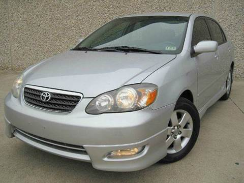 2007 Toyota Corolla for sale at E-Auto Groups in Dallas TX