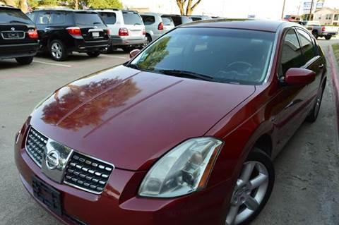 2006 Nissan Maxima for sale at E-Auto Groups in Dallas TX