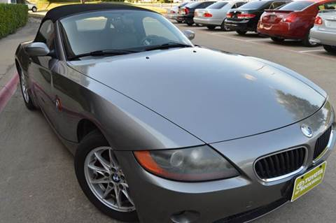 2003 BMW Z4 for sale at E-Auto Groups in Dallas TX