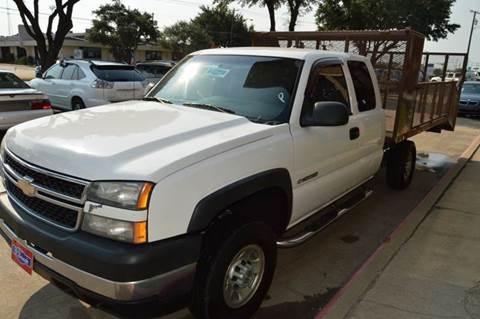 2007 Chevrolet Silverado 2500HD Classic for sale at E-Auto Groups in Dallas TX