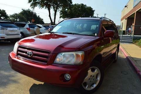 2005 Toyota Highlander for sale at E-Auto Groups in Dallas TX
