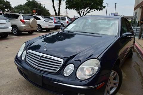2003 Mercedes-Benz E-Class for sale at E-Auto Groups in Dallas TX