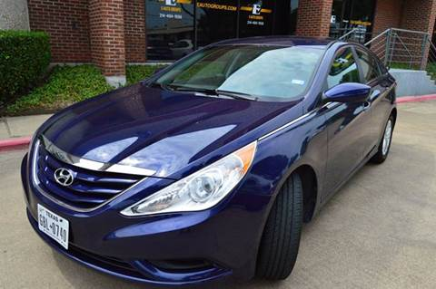 2013 Hyundai Sonata for sale at E-Auto Groups in Dallas TX