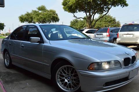 2002 BMW 5 Series for sale at E-Auto Groups in Dallas TX
