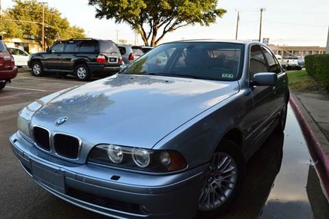 2003 BMW 5 Series for sale at E-Auto Groups in Dallas TX